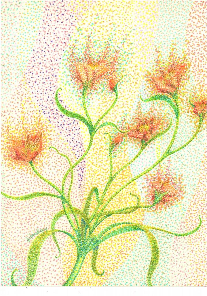 Alstroemeria, done / 完成