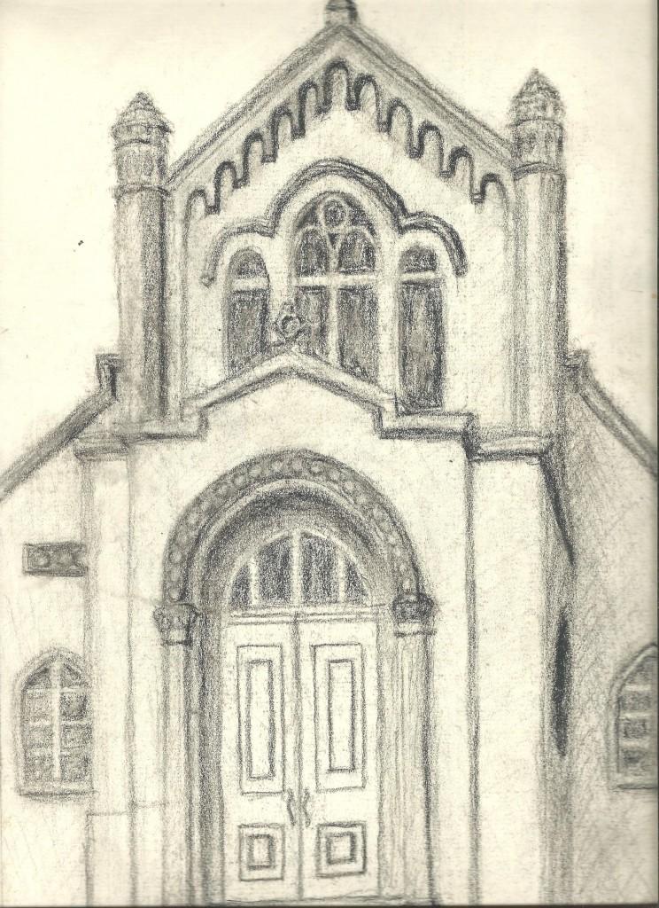The same church's facade