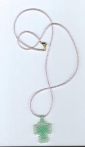 チェーンに通した状態 / Tied to a chain