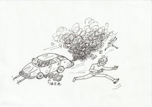 事故さえなけりゃ、こんな車が走り回っても構わないの?