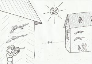 隣が鉄砲を買い込んでるから、ウチも・・・